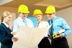 Worker group Royalty Free Stock Images