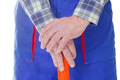 Worker hands Stock Images
