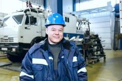 Oilman geologist Stock Image