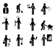 Worker icon Royalty Free Stock Photo