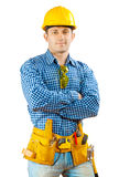 A worker isolated Stock Images