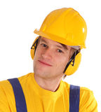 Worker man stock photo