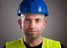 Worker man portrait Royalty Free Stock Photography