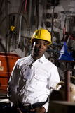 Worker in office maintenance room Stock Photos