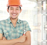 Worker portrait Stock Photos