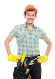 Worker portrait Stock Image