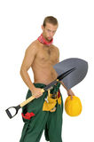 Worker posing Royalty Free Stock Photography