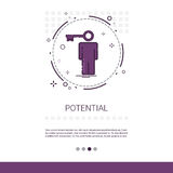 Worker Potential Talent Web Banner With Copy Space Royalty Free Stock Images