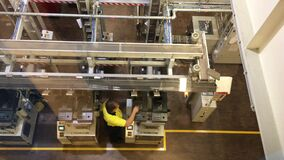 Royal Australian Mint Factory Creating Money