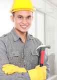 Worker ready to work Stock Photography
