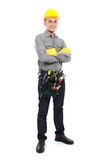 Worker Ready To Work Royalty Free Stock Photo
