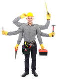 Worker ready to work Royalty Free Stock Image