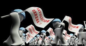 Worker Revolution Stock Photo