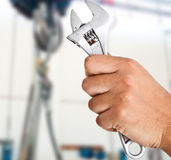 Worker's hand Royalty Free Stock Photography