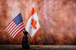 Labor Day is a federal holiday of United States America and CANADA Repair equipment and many handy tools. American and Canadian fl. Worker& x27;s Labor& x27;s Stock Images
