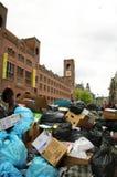 Worker striking in Amsterdam Royalty Free Stock Photos