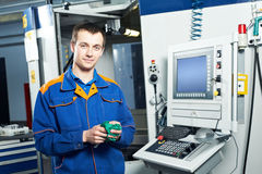 Worker at tool workshop Royalty Free Stock Photography