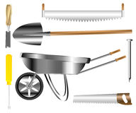 Worker tools for building and building Royalty Free Stock Image
