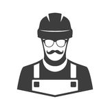 Worker vector icon. Royalty Free Stock Photo