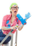 Worker woman Royalty Free Stock Images