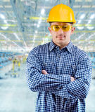 Worker at work Royalty Free Stock Photography