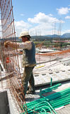 Worker working in the Construction Royalty Free Stock Photo
