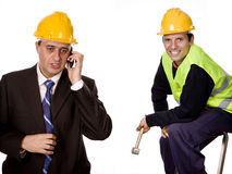 Workers Royalty Free Stock Photos