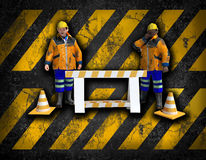 Workers background Royalty Free Stock Photography