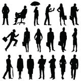 Workers boss man woman Stock Images