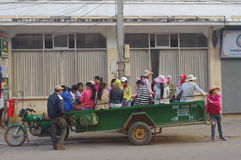 Workers in Cambodia Stock Image