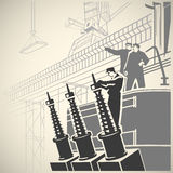 Workers5 Royalty Free Stock Photo