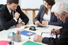 Workers of corporation Royalty Free Stock Images