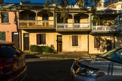 Workers Cottages Rocks Sydney Royalty Free Stock Photo