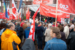 Workers day, Frankfurt royalty free stock images
