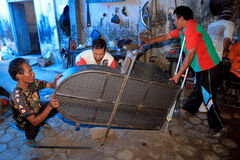Workers with disabilities Stock Images