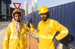 Workers,Dubai Royalty Free Stock Photography