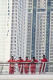Workers,Dubai Royalty Free Stock Photos
