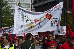 Workers&#x27 international ; Jour 1er mai 2016, Berlin, Allemagne Photos stock