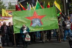 Workers&#x27 international ; Jour 1er mai 2016, Berlin, Allemagne Images stock