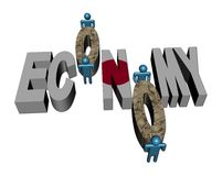 Workers and Japanese Economy Stock Images