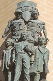 Workers Monument, Valletta Malta Royalty Free Stock Photos