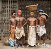 Workers in Old Dhaka Royalty Free Stock Image