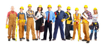 Workers people Stock Photo