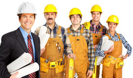 Workers people Royalty Free Stock Photography