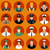 Workers, profession people, Royalty Free Stock Photography