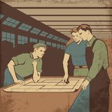 Workers2s vector illustratie