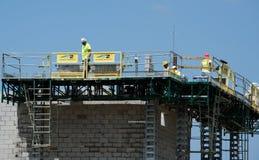 New construction building Stock Photos