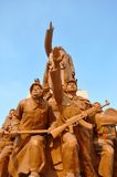 Workers and Soldiers statues, Shenyang, China Royalty Free Stock Image