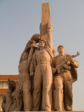Workers Statue at Tiananmen square Stock Images