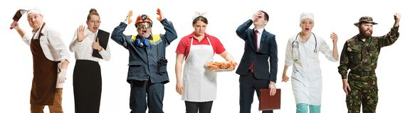 Workers strike concept royalty free stock image